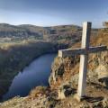 Vyhlídka Bednář u obce Teletín nabízí opravdu krásný výhled na řeku Vltavu a protilehlou  obec Třebenice. 😊 Víte o…
