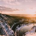 Poznáte toto místo? 😊  #rekavltava #rekavltavaig #usek5ig #usek5 #vltava #snow #winter