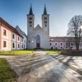 Krásný premonstrátský klášter na severovýchodním okraji města Milevska - Milevský klášter. 😊 . . . . . . . . . …