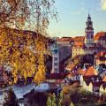 Podzim v Českém Krumlově 🍁🍂  #rekavltavaig #rekavltava #usek2ig #usek2 #ceskykrumlov #krumlov #krumlove #jiznicechy …