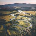 Jaký jste dnes měli den? Máme pro vás krásnou klikatici Vltavy u Nové Pece.😍 Za boží fotku moc děkujeme @tntjukebox 👍😍 …