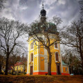 Poutní kostel Jména Panny Marie - jedno z nejproslulejších poutních míst v jižních Čechách 😊 Znáte?  📸 Michal Janda  …