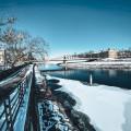 Dlouhý most. 💙 Věděli jste, že most byl pod tímto názvem uváděn již v roce 1369? Jen nám párkrát změnil svou podobu. 🙃 …