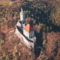 Letecká fotografie hradu Kokořín ❤️ . . . . . . . . #rekavltava #rekavltavaig #usek6ig #usek6 #strednicechy #kokorin …