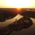 Západ sluníčka nad Zvíkovem 🧡 . . . . #rekavltavaig #rekavltava #usek4ig #usek4 #vltavariverig #vltavariver #zvikov …