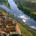 Soutok Vltavy a Labe z výšky je jedním z nejkrásnějších pohledů. Jestlipak jste tam všichni už byli? Rozhodně stojí za…